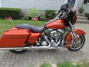 2010 - Harley-Davidson Steet Glide FLHX Sedona Orange